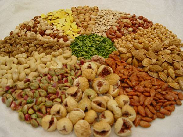 Top quality Dried fruit and nuts