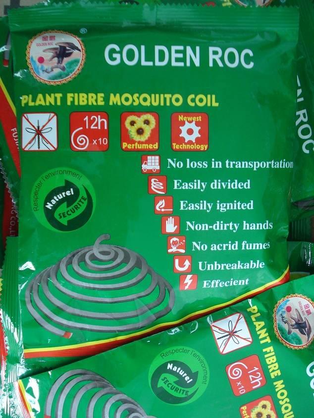 GOLDEN ROC PLANT FIBRE MOSQUITO COIL