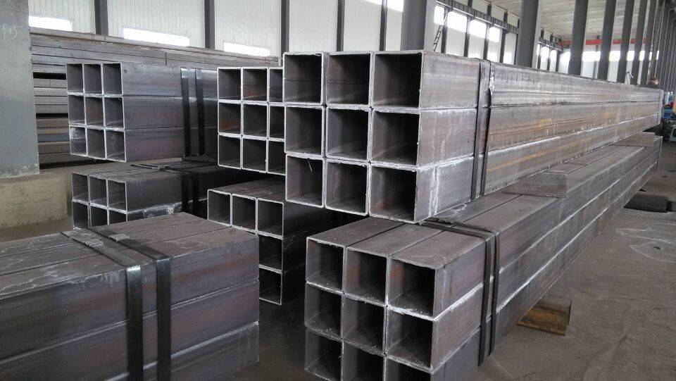 ASTM A53 bevel seamless square steel pipe