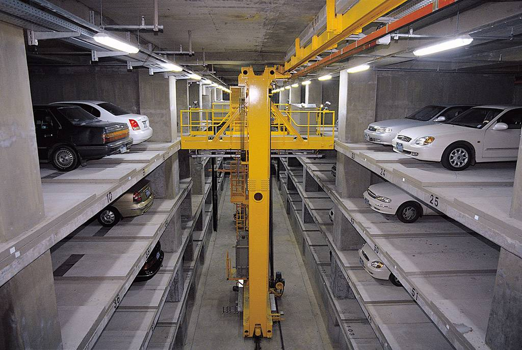 Lane Stacking Parking System A05