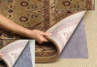 Grey Non Slip Carpet Pad