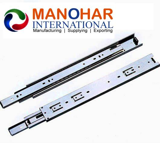 45 mm three fold full extension Drawer Slides for furniture Application