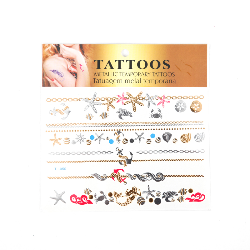 Metallic Tattoo Sticker