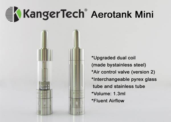 2014 Kanger new electronic cigarettes Kanger Aerotank Mini rebuildable atomizer