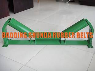 Steel roller support conveyor idler roller for conveyors