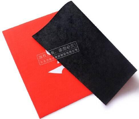 rubber backing+fabric surface floor door mat supplier
