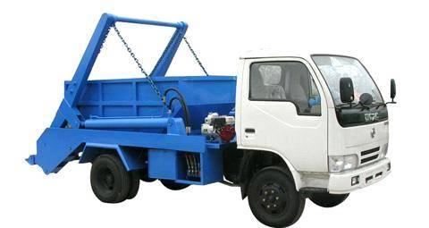 Garbage truck, dirt-wagon,refuse wagon,dustcart,dump cart,rubbish