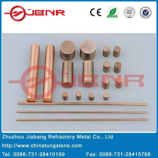 China Manufacturer Copper Tungsten Electrode Price