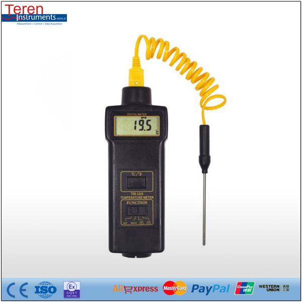 Digital LCD Gas 2 In 1 Engine Laser Tachometer