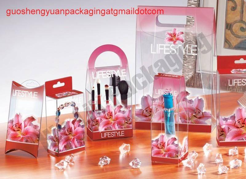 Transparent PVC box for promotional toys,gifts
