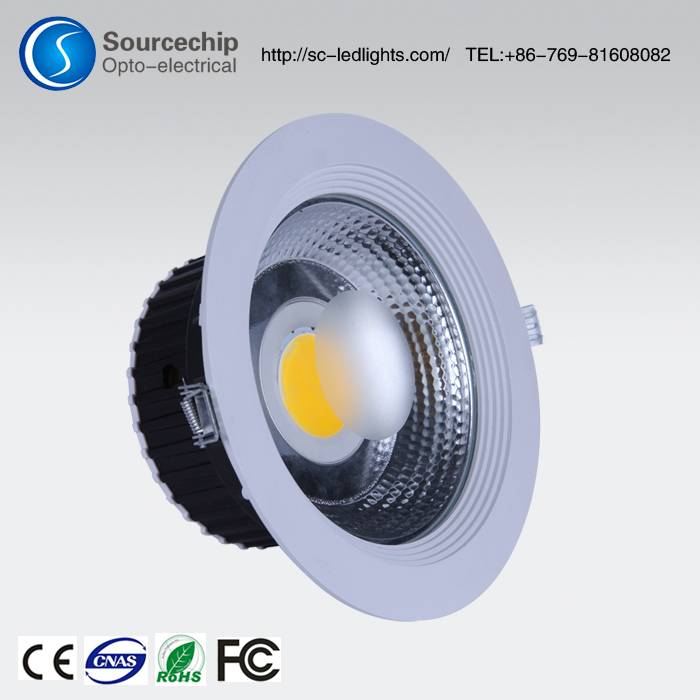 Professional manufacture of 8 inch recessed led down light | 8 inch recessed led down light supplier