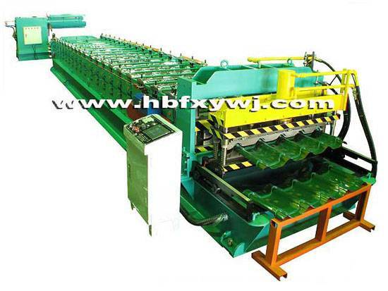 automatic arc glazed roll forming line