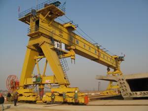 gantry crane for high speed railway