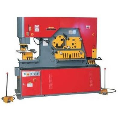 IW-175 Hydraulic Iron Worker(Punching Shearing Machine)