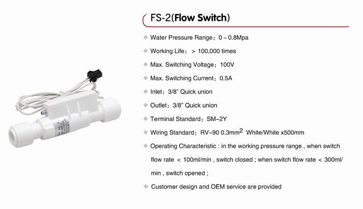 Flow switch FS-2
