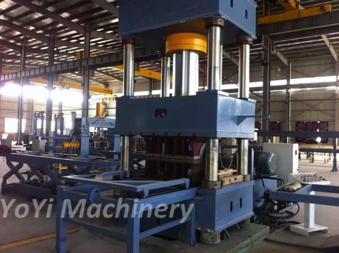 1200 ton hydraulic press