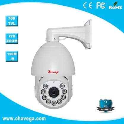 6 Outdoor Analog IR High Speed Dome