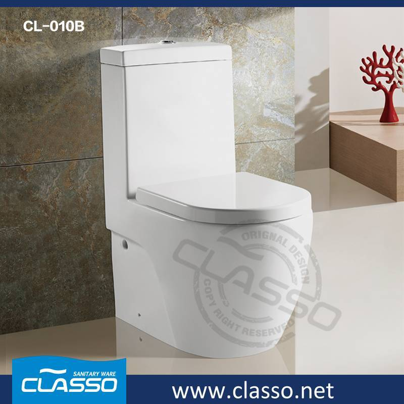 Hot sale washdown toilet new design 4-inch one piece closet CL-010B