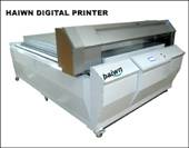 wide format digital glass plastic pvc flatbed printing machine haiwn-DB2000