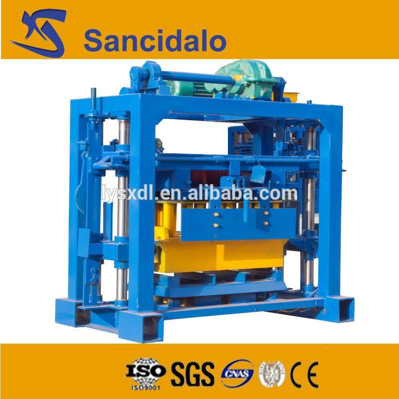 factory price QT40-2 cement brick machine shop price list