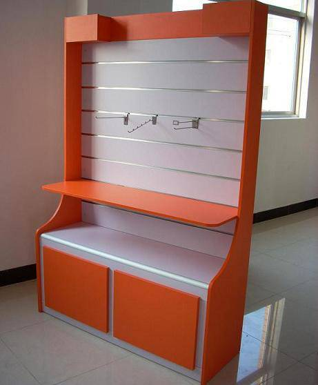 MDF display cabinet from Rongye Industry China shopfitting supplier