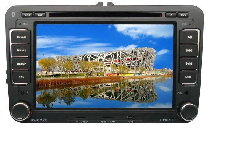 7 inch Car GPS DVD Player for VW MAGOTAN /SATIGAR /Caddy/Touran /Bora (new)/Skoda Superb/GOLF5/GOLF6