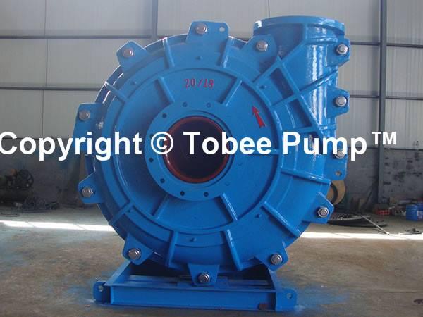 Tobee® Heavy duty high chrome sand dredger mining tailing slurry pump