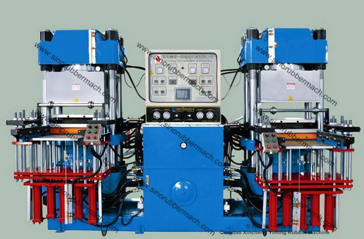 4RT Vacuum Rubber Molding Press Machine