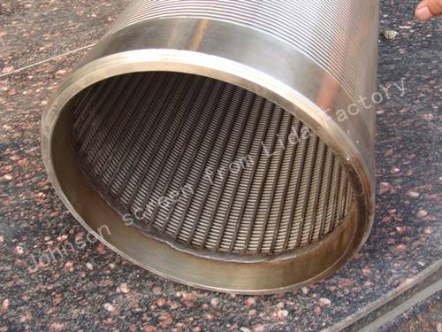 Stainless steel wire mesh screen for water wells