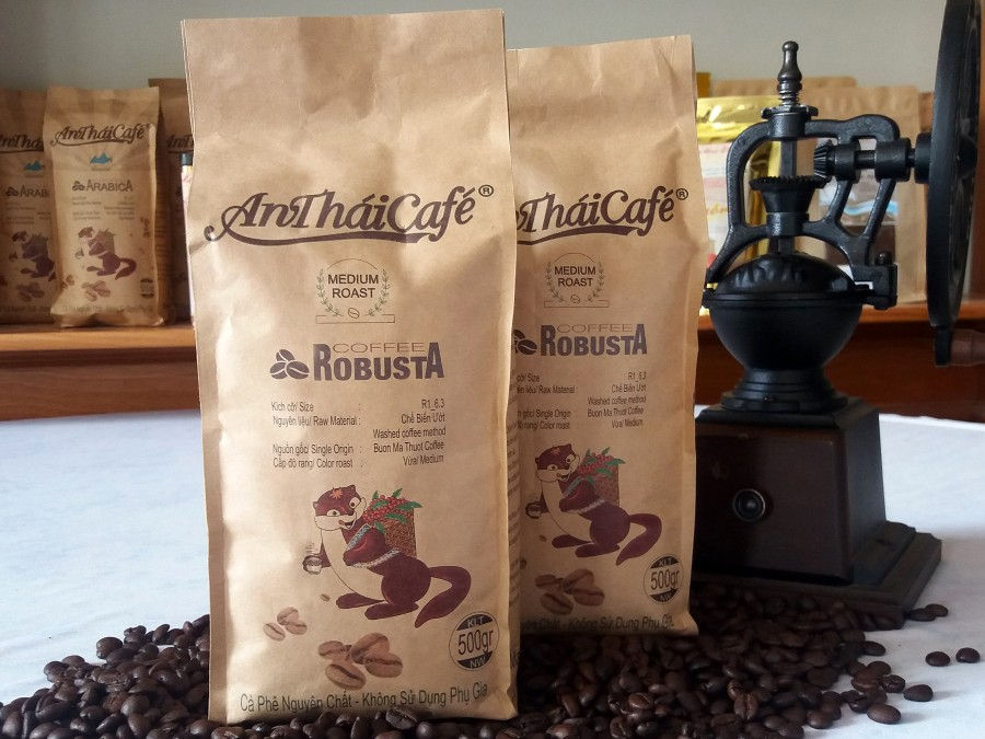 High Quality Roasted Coffee Bean From VIETNAM