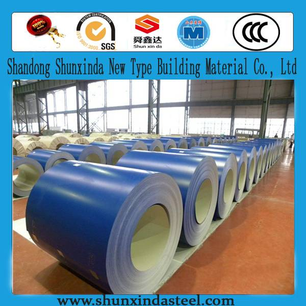 All RAL color ppgl/ppgi steel sheet coil