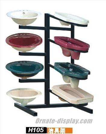 Toilet Sanitary Display Rack