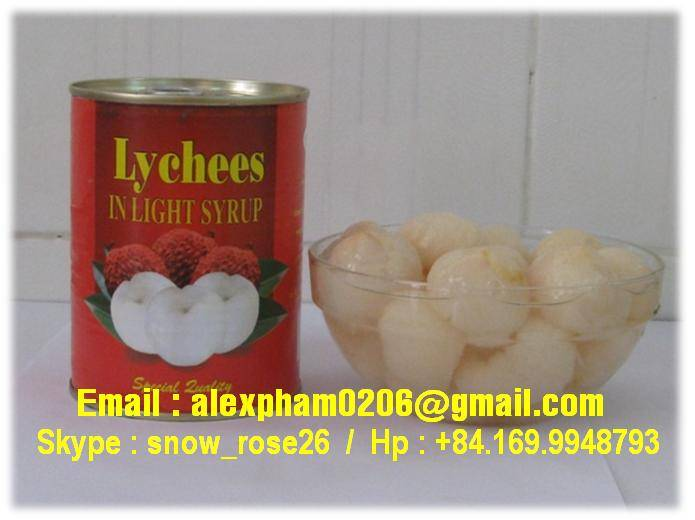 canned lychees/ canned litchi/ frozen litchi/ peeled litchi/ dry litchi
