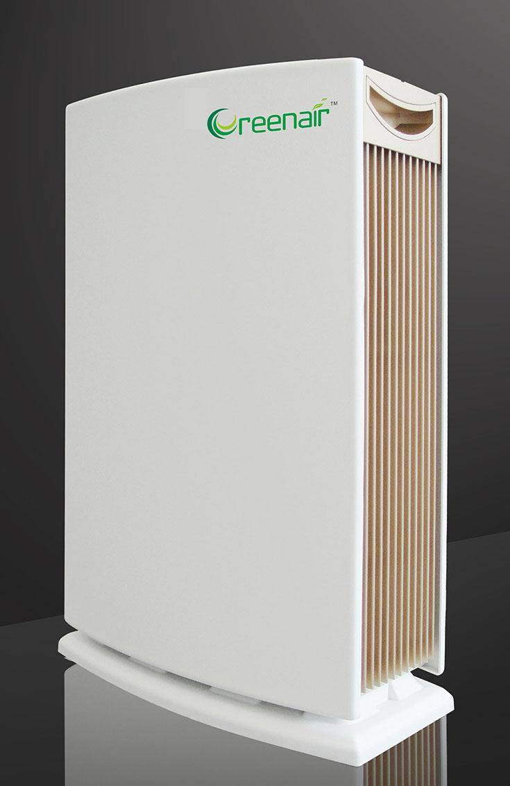 ESP air purifier - UV lamp