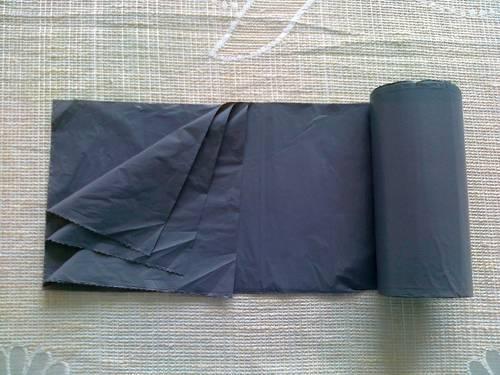 HDPE plain Star Seal Roll pack Plastic Garbage Bag