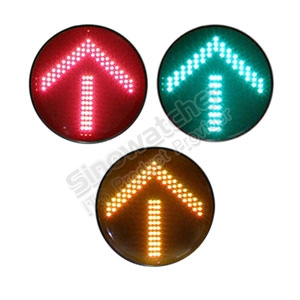 200mm Clear Lens RYG Arrow Traffic Light Module