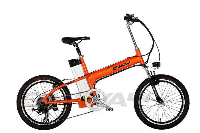 aluminium alloy frame electric bicycle with lithium battery