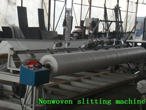 Nowoven slitting machine