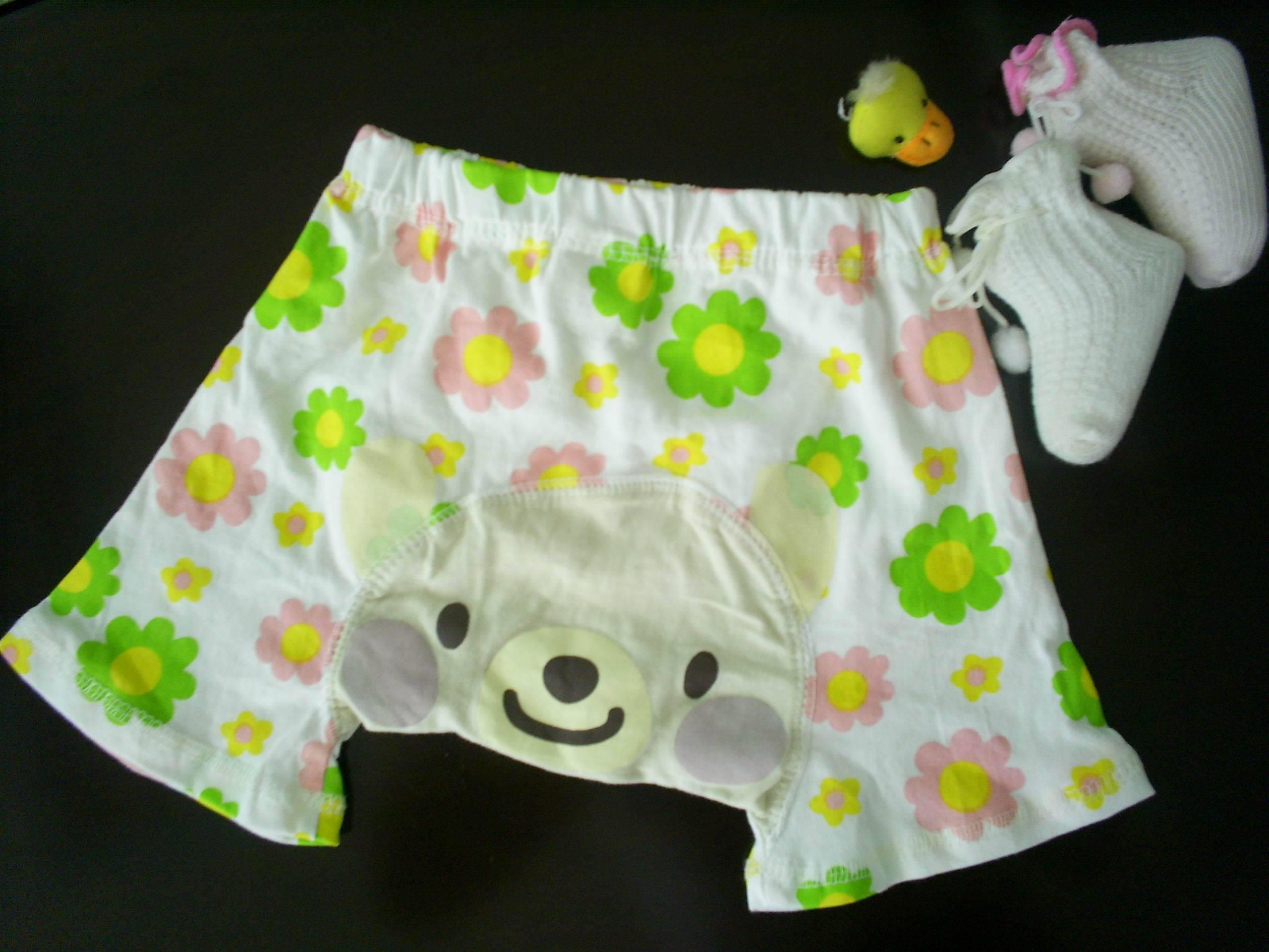 baby cotton pants