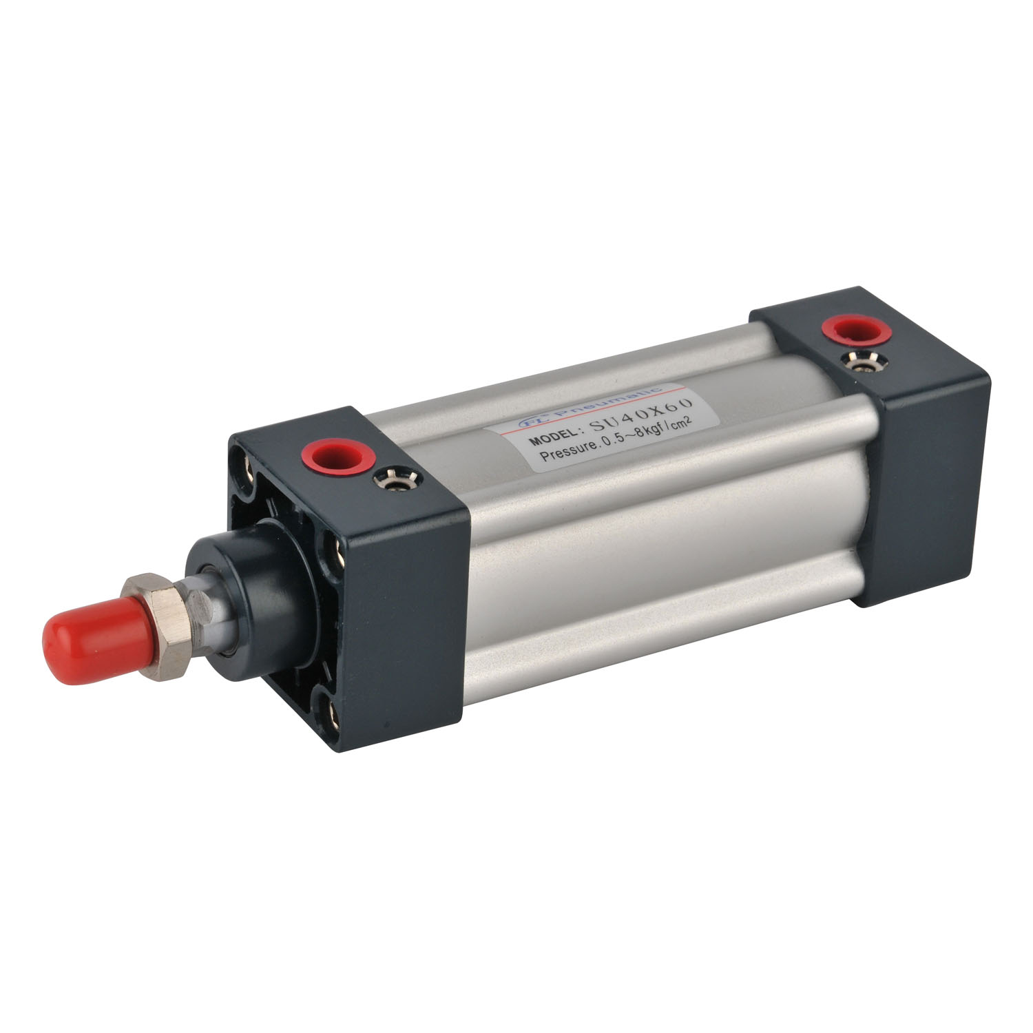 High press SU series guide air cylinder hidden pull rod type gas pneumatic cylinder kit