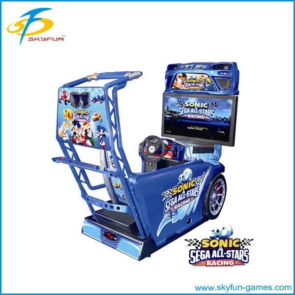 simulator arcade racing car moto game machine