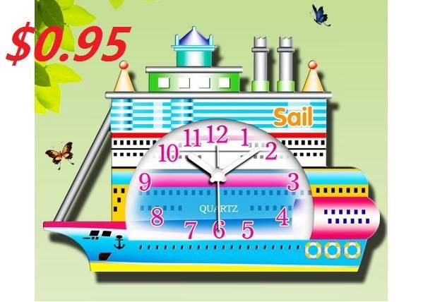 Promotional Gift Novelty Steamer Alarm Clock