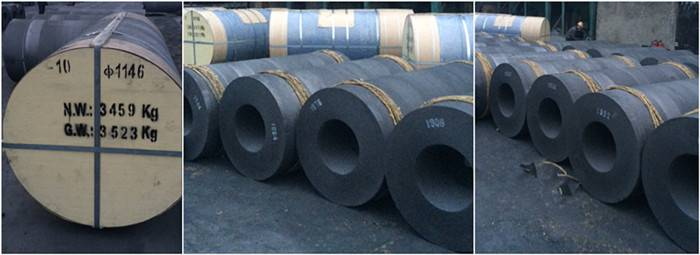 Selling Large Size Graphite Electrode