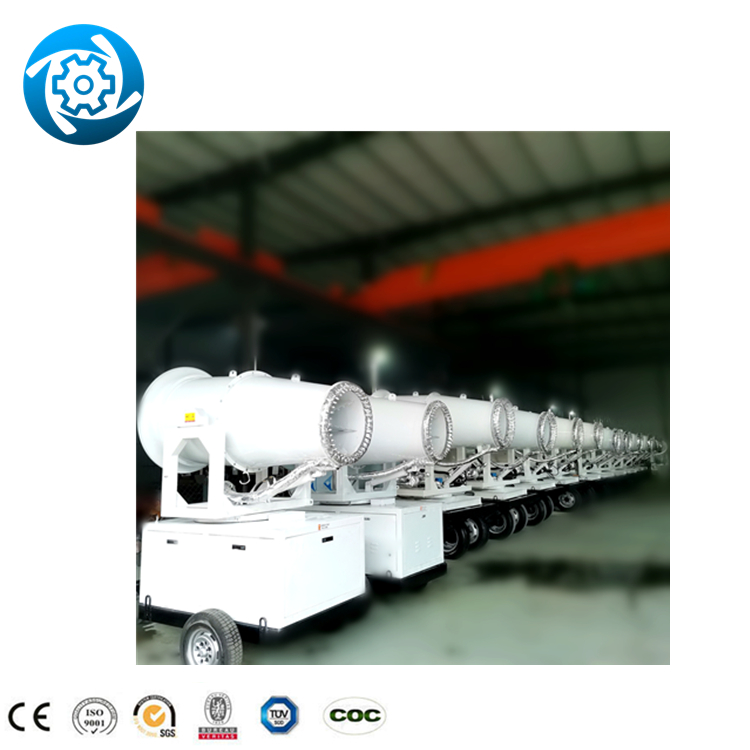 30m carbon steel truck mounted farm water cooling fully configuration 0~360° summer dust cannon