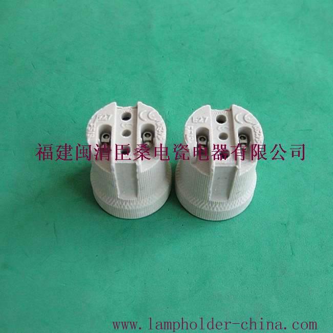 E27-519 Porcelain lampholder