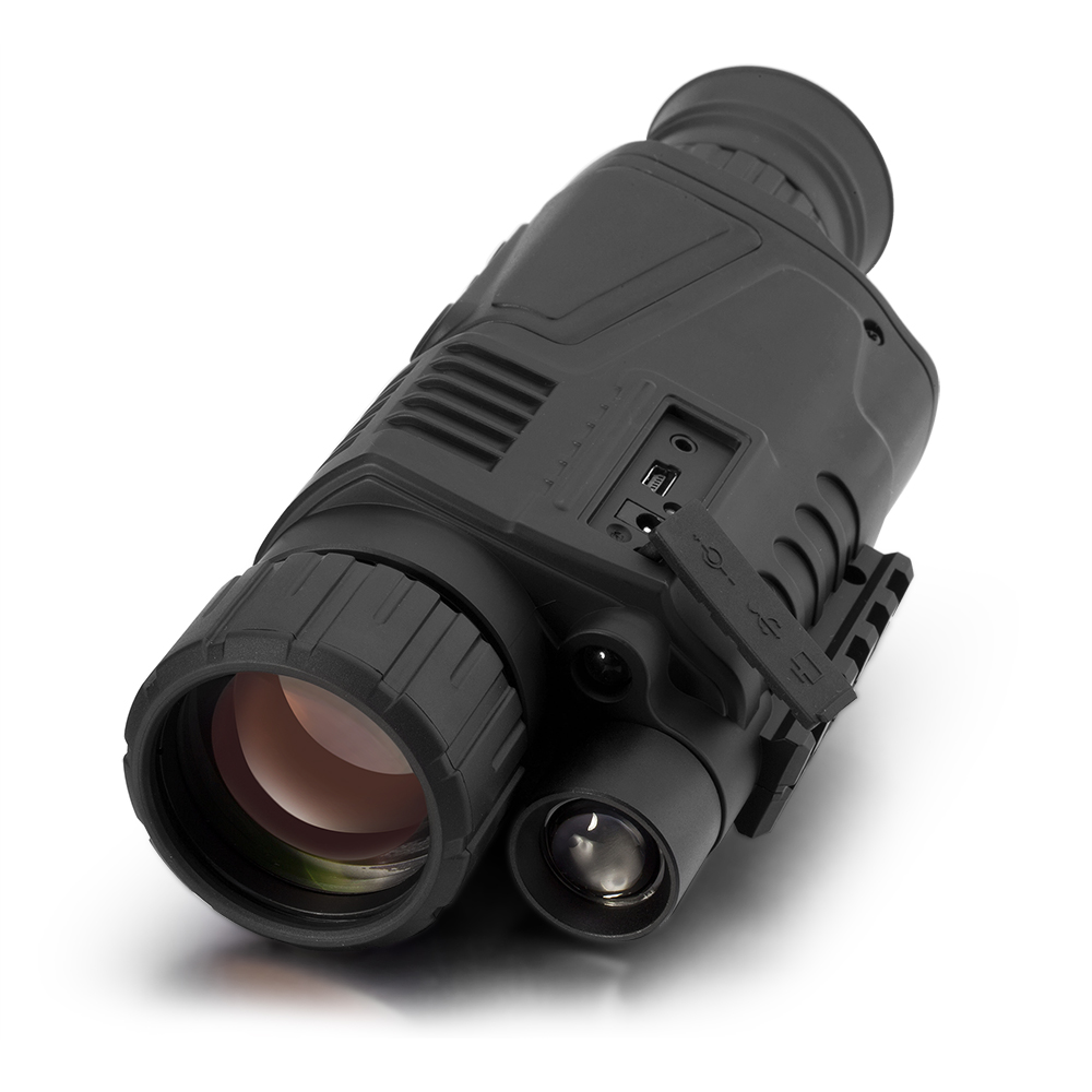P1S-0550 digital night vision monocular with photo & audio/video recording night & day use FCC/CE