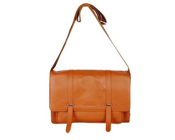 top grade leather men's shoulder bag