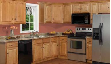 American style kitchen cabinetry made in China