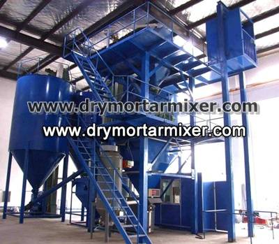 2013 Dry mix cement mortar production line