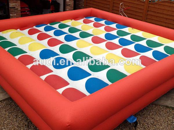 Inflatable interactive game,inflatable twister game
